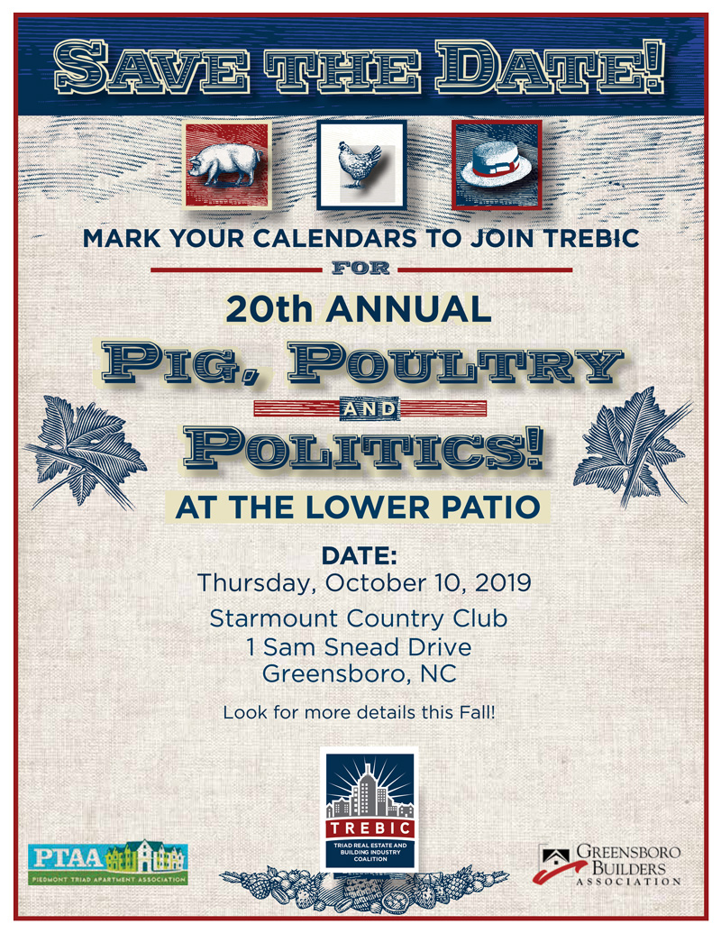 SAVE THE DATE! @ Starmount Country Club